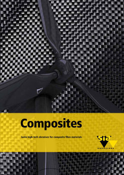 Composites - Swiss high-tech abrasives for composite fibre materials