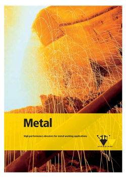 Metal - High performance abrasives for metal working applications